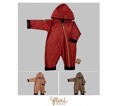 Одежда для малышей в Молдове flexi 221048 Комбинезон-ветровка на молнии ( 62-68-74-80 см.) в асс.