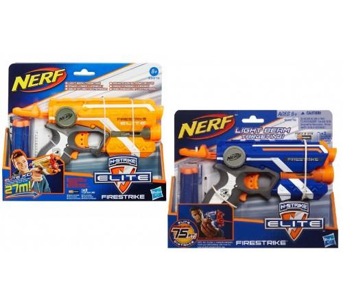 nerf 53378 blaster firestrike în sort.