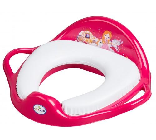 "tega baby scaun de toaletă moale ""princesa"" lp-020-123 roz"