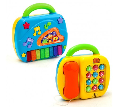 """playgo 2185 Музыкальная игрушка """"Телефон-Пианино"""""""