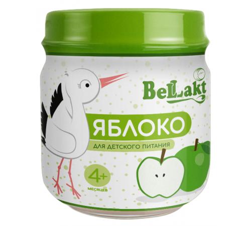 Детское питание в Молдове Беллакт Пюре из яблок (4 м+)  80 гр.