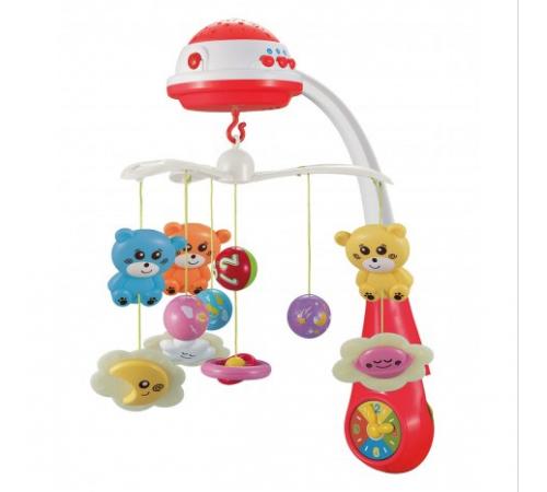 Jucării pentru Copii - Magazin Online de Jucării ieftine in Chisinau Baby-Boom in Moldova baby mix pl-408930 red carusel muzical