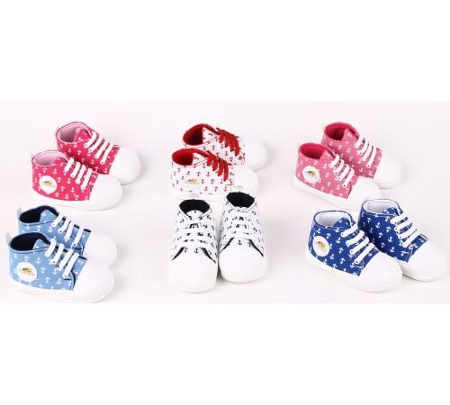 Одежда для малышей в Молдове mini damla 42810 Пинетки-кеды в асс.