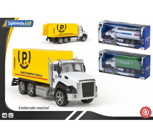 culoare baby 43577 camion de marfă speed & go