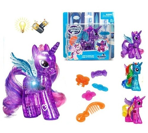 Jucării pentru Copii - Magazin Online de Jucării ieftine in Chisinau Baby-Boom in Moldova op ДЕ04.32 poneu strălucitor cu accesorii în sort.