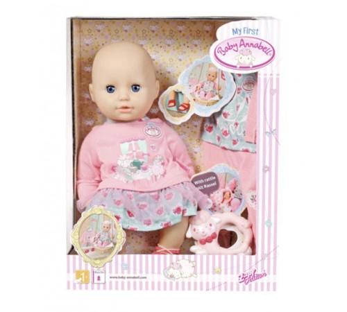 Детскиймагазин в Кишиневе в Молдове zapf creation 700518 Кукла my first baby annabell c набором одежды (36 см.)