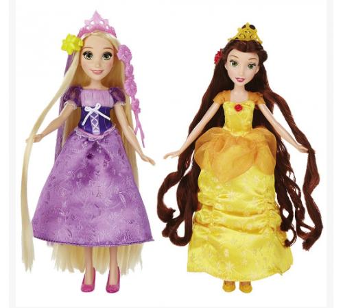 Детскиймагазин в Кишиневе в Молдове disney princess b5292 Базовая  Кукла Принцесса В С Длинными Волосами И Аксессуарами В Ассорт.