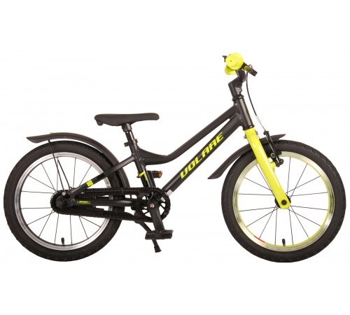 "volare 21674 Велосипед 16 ""blaster prime collection"" чёрный/жёлтый"