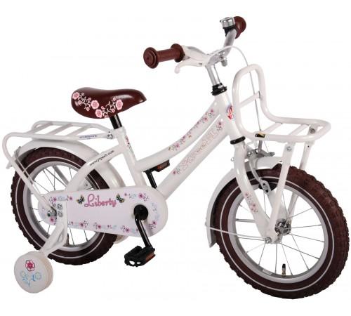 """volare  21428 Велосипед  """"liberty 14"""" белый"""