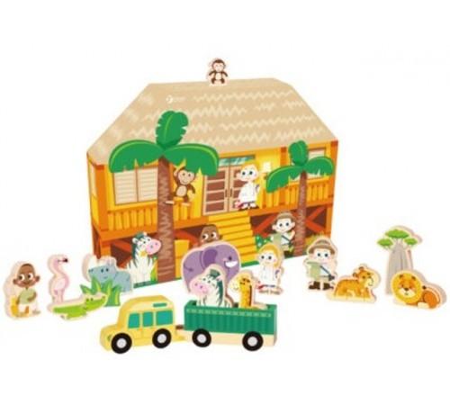 """Детскиймагазин в Кишиневе в Молдове classic world 54365 Деревянный игровой набор """"Животные"""""""