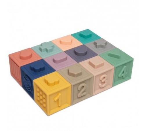 canpol 79/102 Мягкие Развивающие кубики (12 шт.)