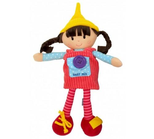 """Детскиймагазин в Кишиневе в Молдове baby mix  ef-te-8488-31a Кукла плюшевая """"Ула"""""""