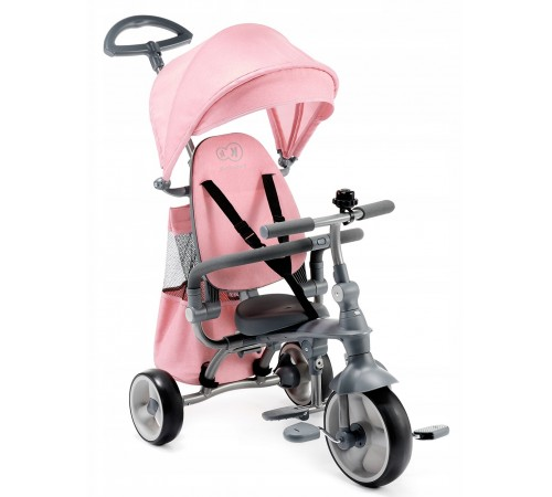kinderkraft Трицикл 4-в-1 jazz розовый