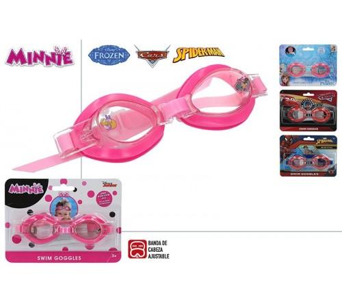color baby 53802 Очки для плавания в асс3 spiderman/cars/frozen