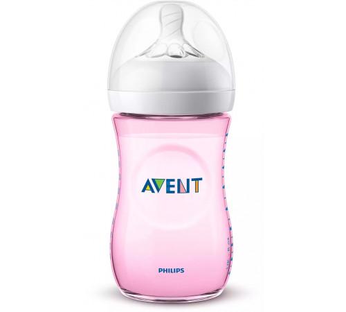 "avent scf034/17 Бутылочка для кормления ""naturall 2.0"" 260 мл. (1 м+) 1 шт."