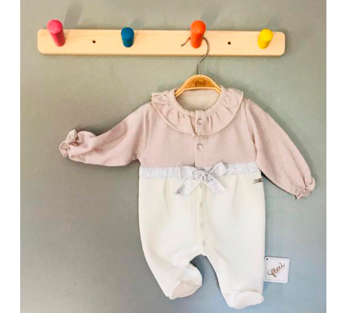 Одежда для малышей в Молдове flexi 213734 Комбинезон хлопок для девочки (р.56-62-68)
