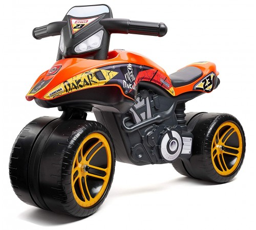 "falk 506d run bike ""moto dakar"" orange"