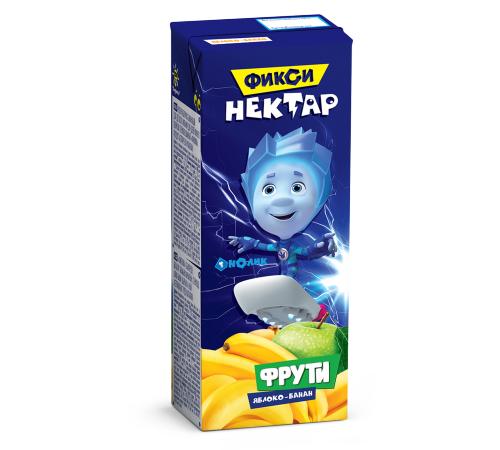 Детское питание в Молдове Фрути нектар Яблоко-Банан  0,2л (Фиксики)