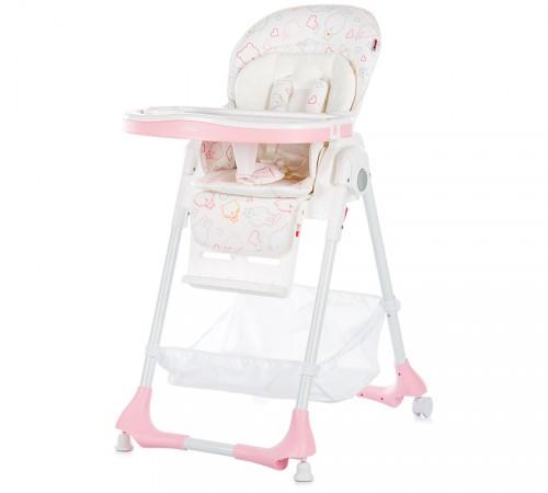chipolino стул для кормления gelato sthge0172pi розовый