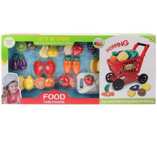 Детскиймагазин в Кишиневе в Молдове op ДЕ05.278 Набор фруктов с тележкой