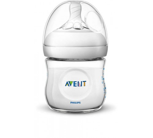 "avent scf030/17 biberon ""natural 2.0"" 125 ml. (0 m.+) 1 buc."