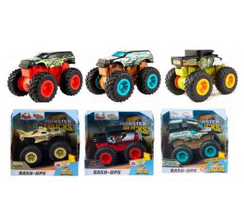 "hot wheels gcf94 Машинка ""Мощный удар"" 1:43 серии ""monster trucks""  в асс."