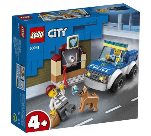 """lego city  60241 Конструктор """"Полицейский отряд с собакой"""" (67 дет.)"""