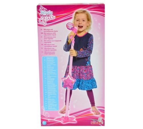 Детскиймагазин в Кишиневе в Молдове simba 6830691 Микрофон для девочек с разъемом для mp3-плеера