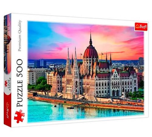 """trefl 37395 puzzle """"budapesta, ungaria"""" (500 el.)"""
