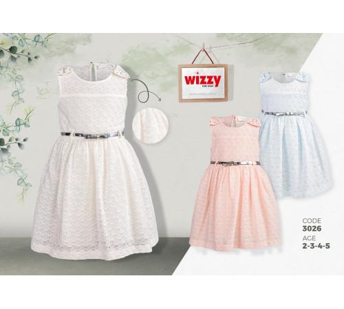 wizzy 3026 rochie (2-3-4-5 ani.) in sort.