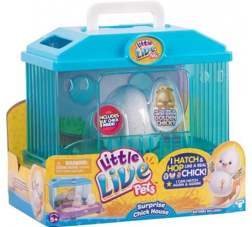 """Детскиймагазин в Кишиневе в Молдове little live pets 28325 Интерактивная игрушка """"Цыпленок с инкубатором"""""""