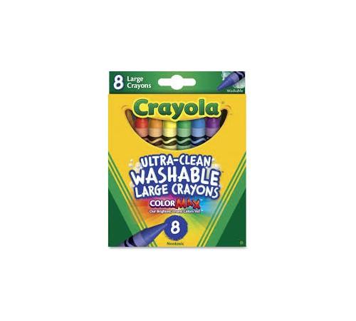 crayola 3282 Смываемые восковые карандаши (8 шт.)