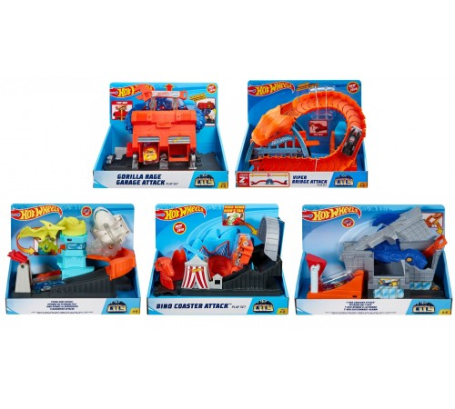 "hot wheels fnb05 set de joc ""monsrii in oras"" in sort."