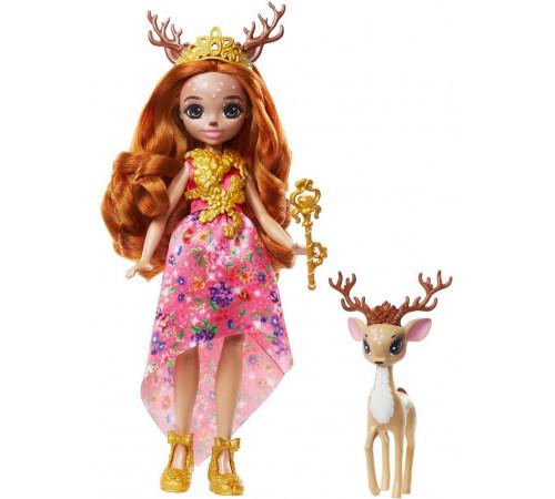 """Детскиймагазин в Кишиневе в Молдове enchantimals gyj12 Кукла """"Королева Давиана и Грасси"""""""