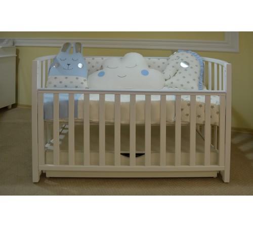 show baby  Постель с подушками голубой