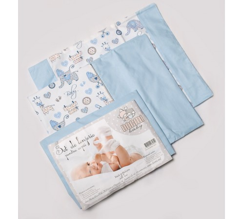 """dormi baby постельное белье """"baby"""" голубой 3 ед"""