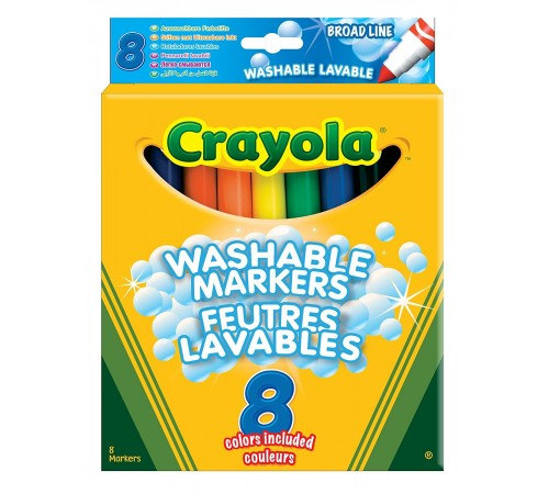 Jucării pentru Copii - Magazin Online de Jucării ieftine in Chisinau Baby-Boom in Moldova crayola 8328 carioce lavabile (8 buc.)