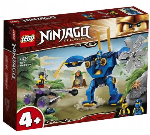 """lego ninjago 71740 Конструктор """"Электрический робот Джея"""" (106 дет.)"""