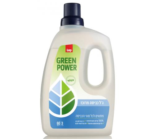 sano Гель для стирки sano green power laundry (3 л.) 352139