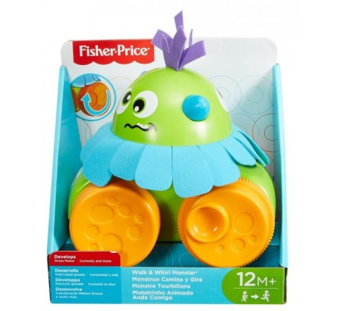 "fisher-price fhg01 jucarie de tras ""monsters"""