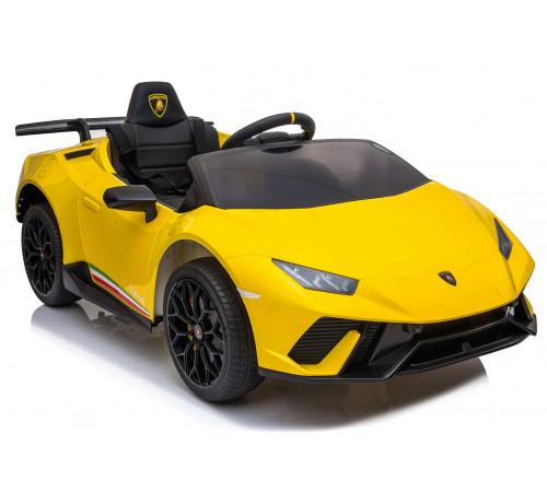 """chipolino Машина на аккумуляторе """"lamborghini huracan"""" elklahu04ye жёлтый"""