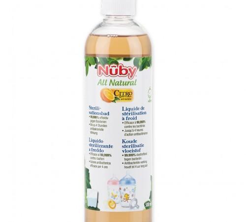 nuby cg53050arenposp licid pentru sterilizarea rece (500 ml)
