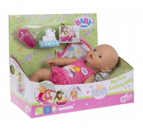 zapf creation 827345 Кукла baby born Веселое купание (30 см.) с  аксессуарами