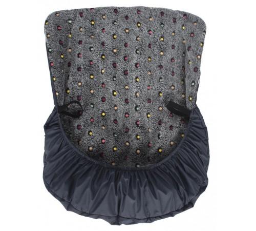 sevi 351 husa pentru picioare pe scaun auto (negru)