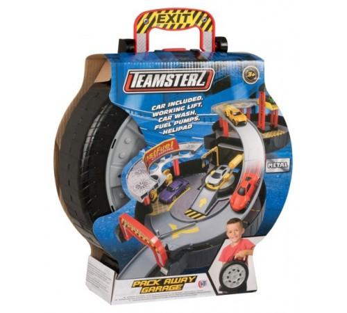"""teamsterz 1416653 Мобильный игровой набор """"Парковка 2 уровня"""" с машинкой"""