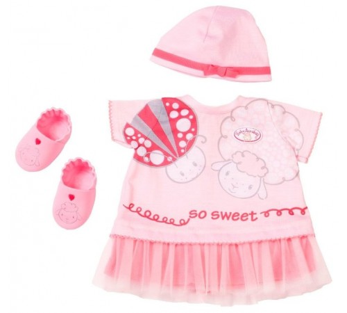 "zapf creation 700570 Набор одежды baby annabell  deluxe ""summer dream"""