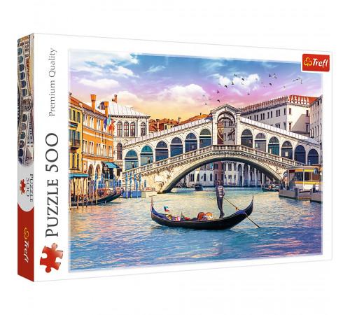 """trefl 37398 puzzle  """"podul rialto, veneția"""" (500 el.)"""