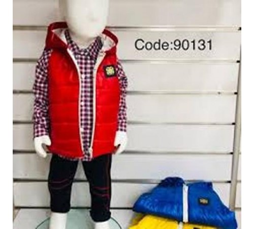 Одежда для малышей в Молдове agucuk & agumini  90131 Костюм для мальчика 3 ед.  (6 -24 мес.) в асс.