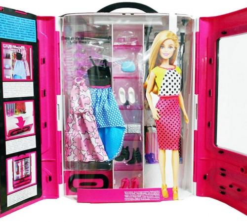 Детскиймагазин в Кишиневе в Молдове barbie dmt57 Шкаф модницы
