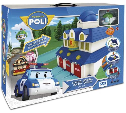 """Детскиймагазин в Кишиневе в Молдове robocar poli 83156 Игровой набор """"Штаб-квартира"""""""